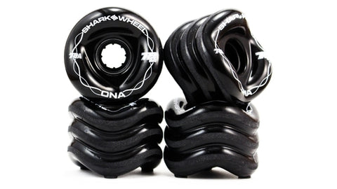 Shark Wheel DNA Formula 72 MM, 78A Wheels - Black (set of 4) - LocoSonix