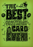 Bald Guy Birthday - The best Birthday card ever!!! Greeting Card - LocoSonix