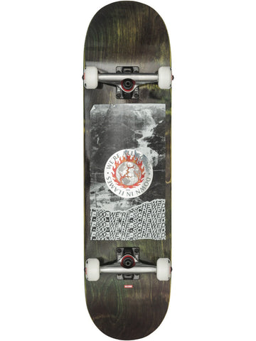 "Globe 8.375"" G2 In Flames Skateboard Complete - Holo/Flood - LocoSonix"