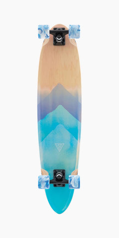 "Landyachtz 36"" Super Chief Watercolor Longboard Complete - LocoSonix"