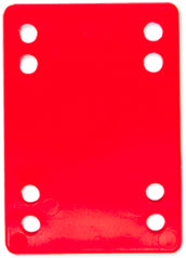 Steadfast Impact Riser Pads  6MM - Red [single] - LocoSonix