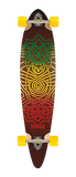 "Stella 46"" Celtic Pintail Longboard Complete"