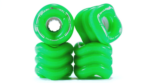 Shark Wheel California Roll 60 MM, 78A - Green (set of 4)