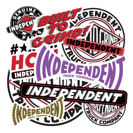 Independent Sticker Pack [10-Assorted]