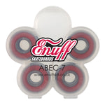 Enuff ABEC-7 Bearings - Red [pack of 8] - LocoSonix