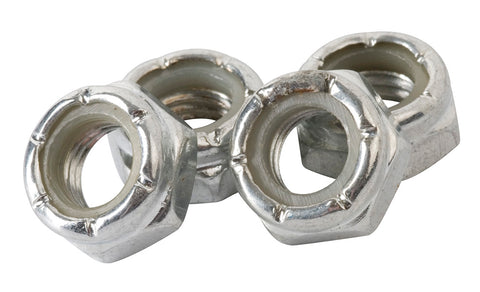 Enuff Wheel Lock Nuts / Axle Nuts [set of 4] - LocoSonix
