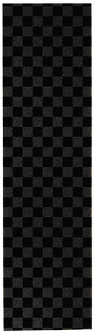"Enuff 9"" Chequered Griptape Sheet - Black - LocoSonix"