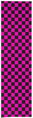 "Enuff 9"" Chequered Griptape Sheet - Pink"