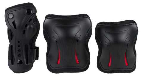 SFR Essentials Triple Pad Set - Black - LocoSonix