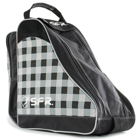 SFR Designer Ice & Skate Bag - Black Chequered - LocoSonix