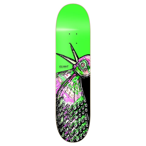 Yocaher BIRD Skateboard Deck - Green 8""