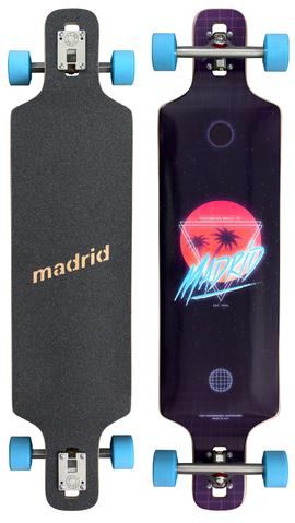 "Madrid 39"" DTF DT Longboard Complete - FUTURE PARADISE"
