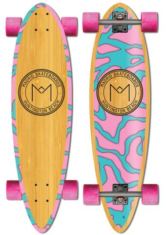 "Madrid 36.25"" BLUNT Longboard Complete - Harbor Bamboo"
