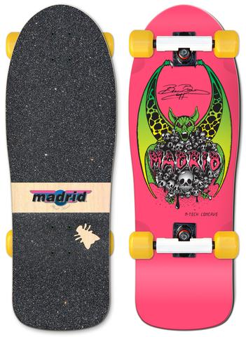 "MADRID 30.75"" BEAU BROWN OG CRUISER - PINK - LocoSonix"