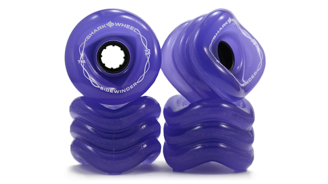 Shark Wheel Sidewinder Formula  70 MM, 78A - Transparent Purple (set of 4)