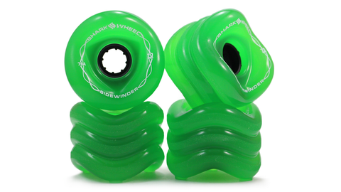 Shark Wheel Sidewinder Formula  70 MM, 78A - Transparent Green (set of 4)