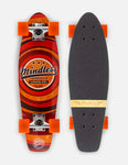 "Mindless 24"" Daily Stained II Longboard Complete - Orange"