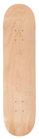 Enuff Classic Skateboard DECK ONLY - Natural - LocoSonix
