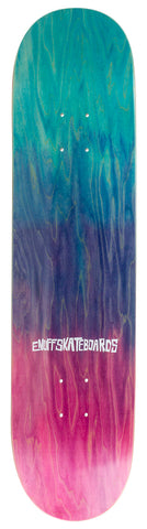 "Enuff 8"" Classic Fade Skateboard DECK ONLY - Blue / Pink"