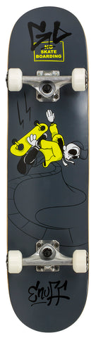 "Enuff 7.25"" Skully Mini Skateboard Complete - Black - LocoSonix"