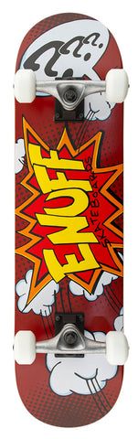 "Enuff 7.75"" POW Skateboard Complete - Red"