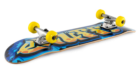 "Enuff 7.25"" Graffiti II Mini Skateboard Complete - Yellow - LocoSonix"