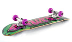 "Enuff 7.25"" Graffiti II Mini Skateboard Complete - Purple - LocoSonix"