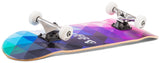 "Enuff 8"" Geometric Skateboard Complete - Purple - LocoSonix"