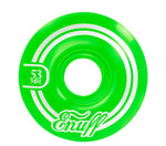 Enuff 53MM Refresher II Wheels - Green - LocoSonix