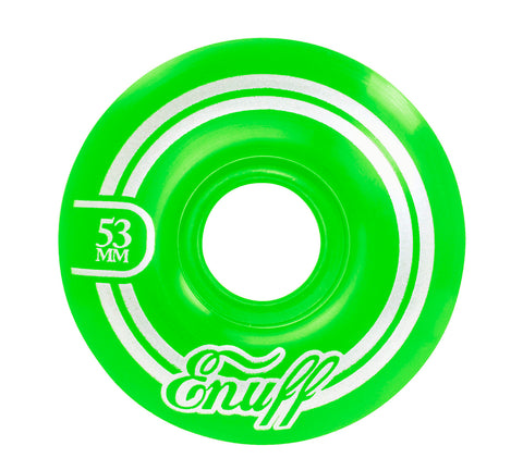 Enuff 53MM Refresher II Wheels - Green
