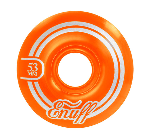Enuff 53MM Refresher II Wheels - Orange [set of 4] - LocoSonix