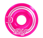 Enuff 53MM Refresher II Wheels - Pink [set of 4] - LocoSonix