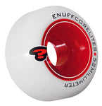 Enuff 52MM Corelites Skateboard Wheels - White / Red