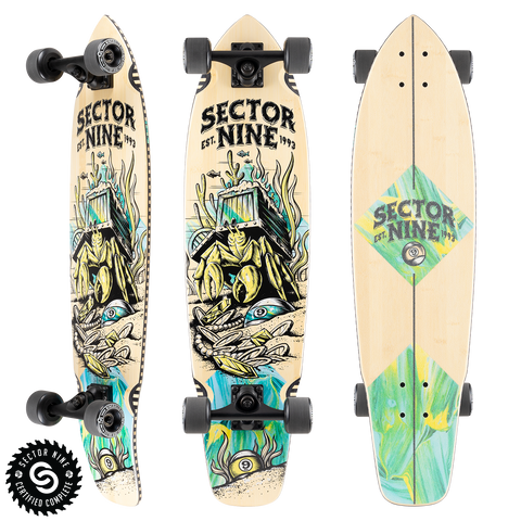 Sector9 Fortune Ft. Point Longboard Complete 34
