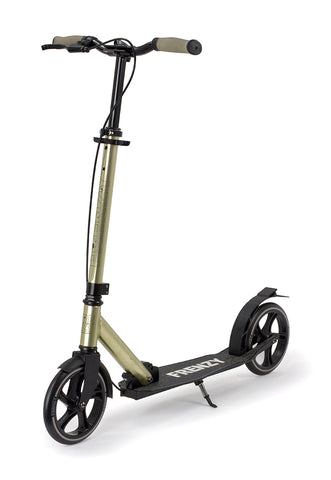 Frenzy 205mm Dual Brake Plus Recreational Scooter - Champagne - LocoSonix