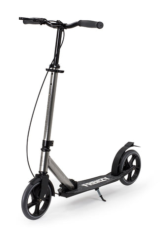Frenzy 205mm Dual Brake Plus Recreational Scooter - Titanium - LocoSonix