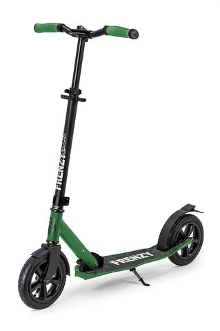 Frenzy 205mm Pneumatic Plus Recreational Scooter - Military - LocoSonix