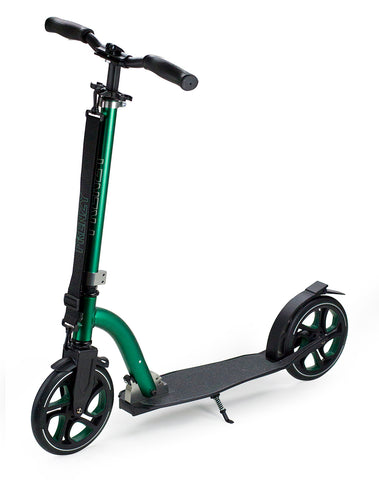 Frenzy 215mm Recreational Scooter - Black / Green
