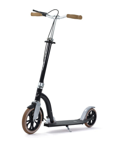 Frenzy DUAL BRAKE Push Scooter - Black 230mm