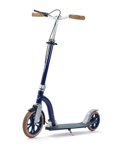 Frenzy DUAL BRAKE Push Scooter - Blue 230mm