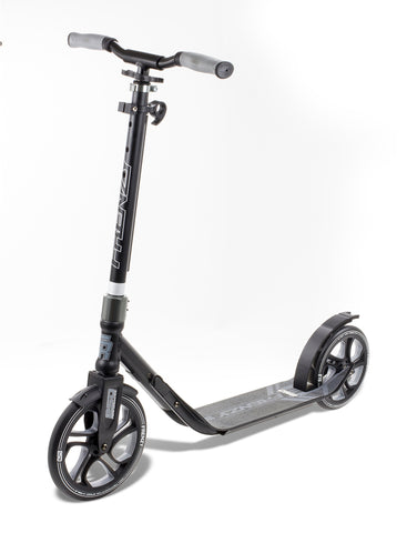 Frenzy 250mm Recreational Scooter - Black - LocoSonix
