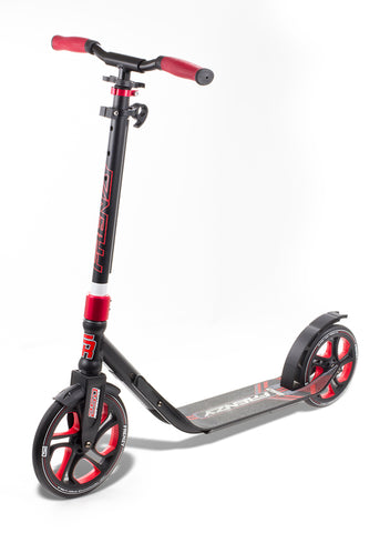 Frenzy 250mm Recreational Scooter - Red - LocoSonix