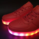 FlashGear Game Changer Low Top LED Shoes - Red