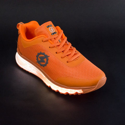 FlashGear Illuminator LED Shoes - Orange