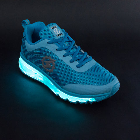 FlashGear Illuminator LED Shoes - Light Blue