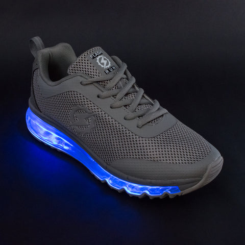 FlashGear Illuminator LED Shoes - Grey