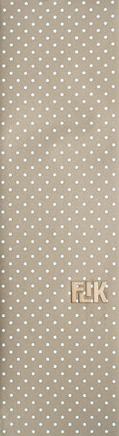 "Flik Graphic 33"" Polka Dots Griptape Sheet - White / Clear"