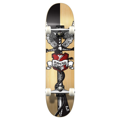 "Yocaher 7.75"" Smite Skateboard Complete"