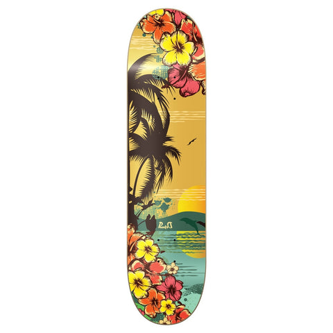 Yocaher TROPICAL DAY Skateboard Deck 8""