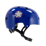SFR Adjustable Kids Helmet - Blue / Silver [46-52cm]